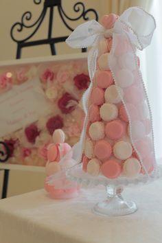 ウェディング/手作りマカロンタワー...|ファッション誌MOREの公式サイト「DAILY MORE(デイリー モア)」|HAPPY PLUS(ハピプラ)