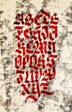 Calligraphy by Renato Molnar