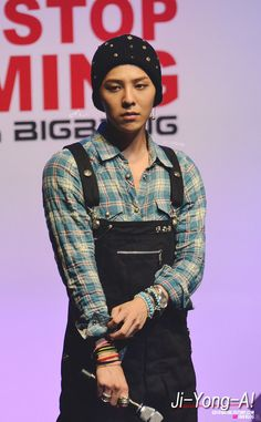 I heard that overalls might make a comeback. If this happens, I'm blaming you, Jiyong.