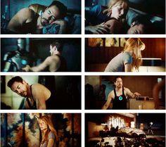 Tony Stark & Pepper Potts- Iron Man 3
