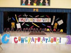That crazy art teacher....Ms. O'Kelley Promotional décor for elementary school.