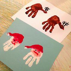 Little Hiccups: Christmas Handprints