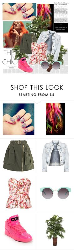 """Summer"" by forfirstyannisa ❤ liked on Polyvore featuring Nail Rock, Jalo, Kenzo and ASOS"