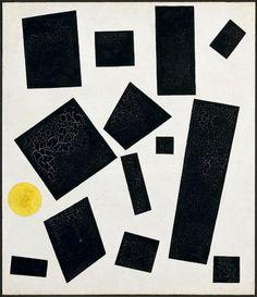 laflaneuse8:  Kazimir Malevich, Suprematist Composition, 1915