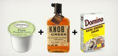 K-Cup Cocktails: Hot Bourbon Mint Tea