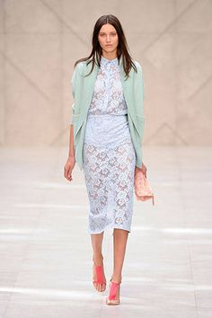 Top Fave Looks from London Fashion Week (Spring 2014): Burberry Prorsum.