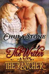 The Writer and the Rancher by Chula Stone http://www.stormynightpublications.com/the-writer-and-the-rancher-by-chula-stone/ Publisher's Note: The Writer and the Rancher contains spankings of an adult woman, including domestic discipline in a contemporary setting. If such material offends you, please don't buy this book.