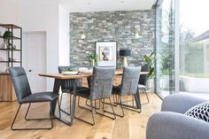 This stylish dining range has a timeless design with a contemporary feel perfect for making a statement. Produced from solid European oak with a natural finish. With 12 different beautiful pieces to choose from you can create your own combination. Dining Chairs, Dining Room, Dining Table, Home Comforts, Timeless Design, Range, Contemporary, Furniture, Create