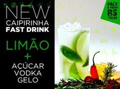Fast Drink! New Caipirinha! Limão