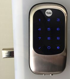 Thank you to ADS Security for donating a Touchless Keyless Entry Door Lock to the BBB Online Auction, http://nashville.app.bbb.org/auction/item.php?id=612