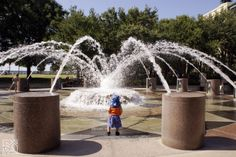 Fountain Play at Waterfront Park