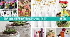 10 Ispirazioni - Vasi Fai da Te http://www.passiondiy.com/10-ispirazioni-vasi-fai-da-te/ 10 #idee per realizzare originali #vasi fai da te… e celebrare l'arrivo della #primavera!