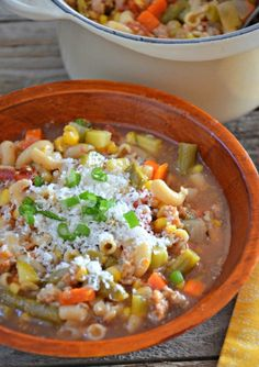Ski Soup with Italian Sausage | mountainmamacooks.com