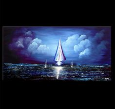 Seascape Painting - The Overlanders #4285    $1199