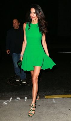 Amal Clooney Photos - Amal Alamuddin Goes out for Dinner in NYC - Zimbio