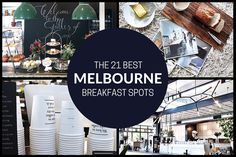 The 21 best Melbourne Breakfast Spots - MELBOURNE GIRL - We are obsessed with doing breakfast in style in and around our beautiful city.