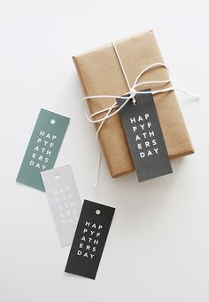 printable father's day gift tags printable gift tags handmade printable father's day gift tags - almost makes perfect Diy Father's Day Gifts, Father's Day Diy, Fathers Day Gifts, Grandparent Gifts, Creative Gift Wrapping, Creative Gifts, Wrapping Gifts, Wrapping Ideas, Diy Cadeau