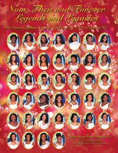 50th Annual Debutante Cotillion Souvenir Book Now, Then & Forever Legends & Legacies - April 19, 2014, Delta Sigma Theta Sorority, Inc.