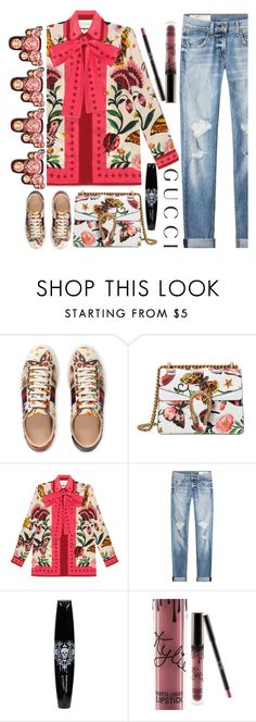 """""""Presenting the Gucci Garden Exclusive Collection: Contest Entry"""" by ecem1 ❤ liked on Polyvore featuring Gucci, rag & bone and gucci"""