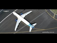 VIDEO: Mexico City International Airport from Above - YouTube - This video was created with the permission and supervision of the Mexico City International Airport authorities, and in close contact with the control tower and pilots.