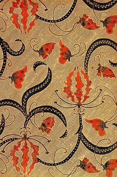 hand drawn batik on cotton, 'kembang sungsang'; jakarta, indonesia #batik #indonesia #ethnica