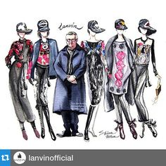 Thank you @lanvinofficial with @repostapp. #repost 