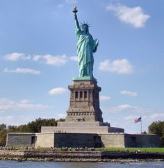 The Staue of Liberty seems like a perfect place for landmark fans.