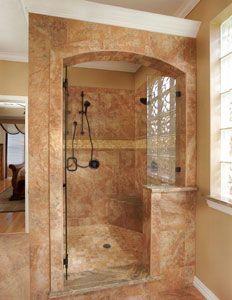 Bathroom remodeling on pinterest traditional bathroom for Bath remodel dallas