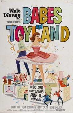 "vintage ""babes in toyland"" movie poster"