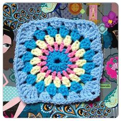 @ Made with Loops: Homely Blanket Quest Square 19