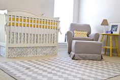 small nursery ideas | For a lacquered yet child-friendly approach to elegant nursery decor ...