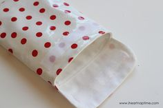 Reusable Lunch Bags (sewing tutorial) I Heart Nap Time | I Heart Nap Time - Easy recipes, DIY crafts, Homemaking