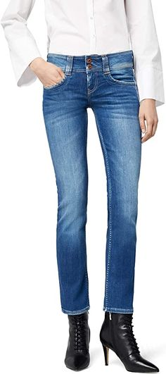Supiii.... Pepe Jeans, Diy Jeans, Jean Diy, Outfit, Skinny Jeans, Jeans Bleu, Amazon Fr, Denim, Pants