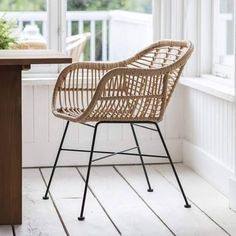 Set of 2 Hampstead Chairs - All-weather Bamboo | The Farthing, Set of two Chairs | Google Shopping Outdoor Dining Chairs, Dining Arm Chair, Outdoor Living, Dining Room, Large Furniture, Outdoor Furniture, Striped Cushions, Bar Seating, Table Dimensions