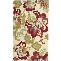 Jacobean Floral Rug