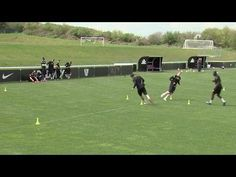 How to get faster for football | Soccer training drill - YouTube