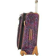 Amazon.com | Steve Madden Luggage Honey 4 Piece Spinner Collection (Purple) | Luggage Sets Best Luggage, Luggage Sets, Purple Luggage, Fall Forward, Suitcase Bag, Vera Bradley Backpack, Steve Madden, Stability, Wheels