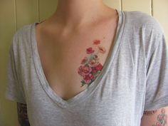 retro floral love
