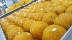 Ladoo being freshly made. Sweet Centre 106 Lumb Lane  BD8 7RS Tel: 01274 725454 www.sweetcentrebradford.co.uk  #est1964 #50years #bradford #yorkshire #finest Bradford, Pretzel Bites, Yorkshire, Centre, Bread, Sweet, Food, Candy, Brot