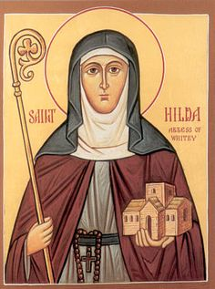 Feast of St. Hilda of Whitby; Christian Religious Observance; November 17; Saxon abbess of the double monastery of Whitby; renowned for spiritual wisdom and her nunnery's culture. A major light of Celtic Christianity. Convened the Council of Whitby (664) to reconcile Celtic and Roman differences. Patron saint of business and professional women.