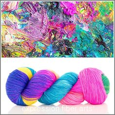 Expression Fiber Arts, Inc. - RECKLESS ABANDON 'RESILIENT' SUPERWASH MERINO SOCK, $24.00 (http://www.expressionfiberarts.com/products/reckless-abandon-resilient-superwash-merino-sock.html)