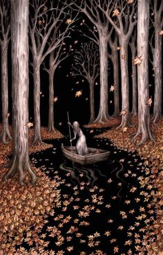 'Driftwood Gold' by Adam Oehlers Giclee Archival quality print Hand Embellished with gold ink Each piece has its own unique drift of golden. Fairytale Art, Art And Illustration, Whimsical Art, Dark Art, Wicca, Cute Art, Art Inspo, Fantasy Art, Art Photography
