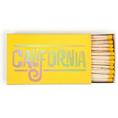 California Dreamin' Extra Large Matchbox #gift-25-under #home-decor-candles #paper-desk-accessories