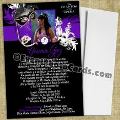 Image detail for -quinceanera invitations
