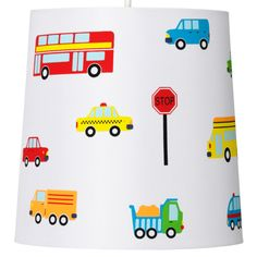 Transport lampshade