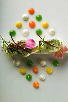 Cannelloni of eekytoe crab with daikon radishes and Madras curry prepared by…
