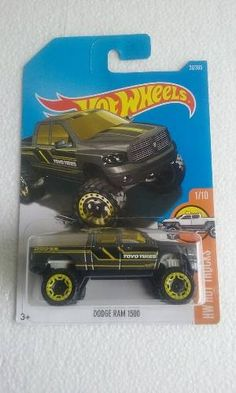 Hot Wheels 2017 Dodge Ram 1500 Hot Trucks R$21,99
