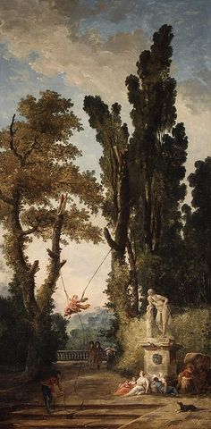 Hubert Robert: The Swing (17.190.27) | Heilbrunn Timeline of Art History | The Metropolitan Museum of Art