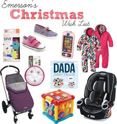 Christmas Wish List | Baby