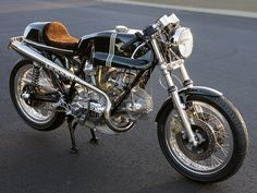 Ducati Cafe Racer from Oil and Steel